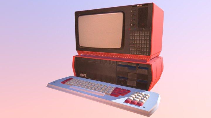 Agat 7 (soviet computer) 3D Model