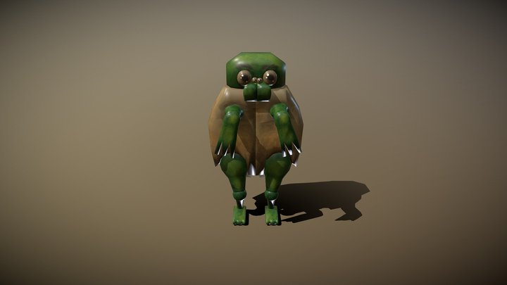 Reptisect 3D Model