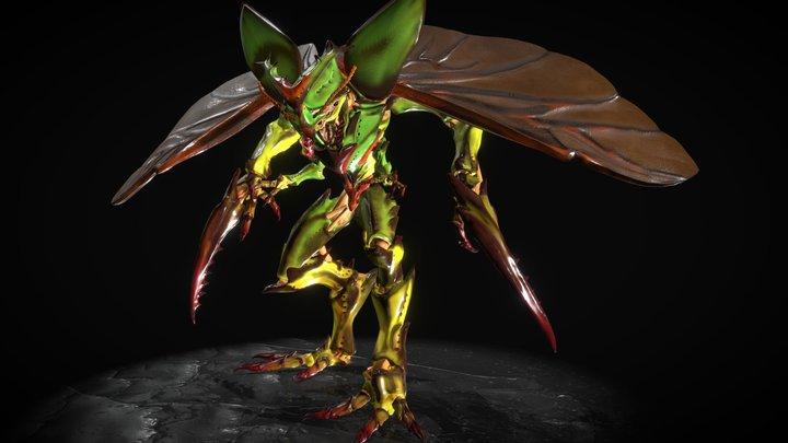 Coleoptera Pugnator 3D Model