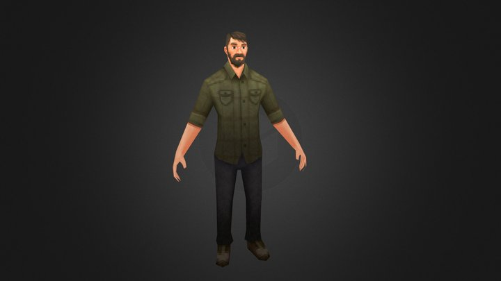 VG Remix | The Last of Us | Joel 3D Model