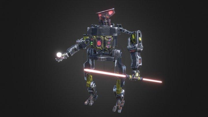 UN-X1V Robot 3D Model