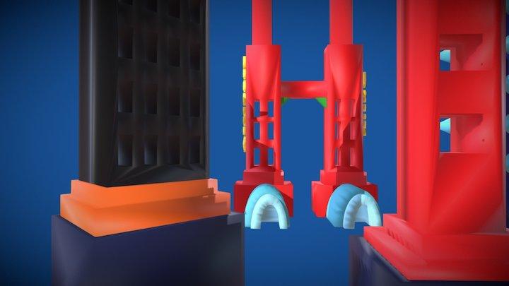 Artyourself - Megalopolis 3D Model