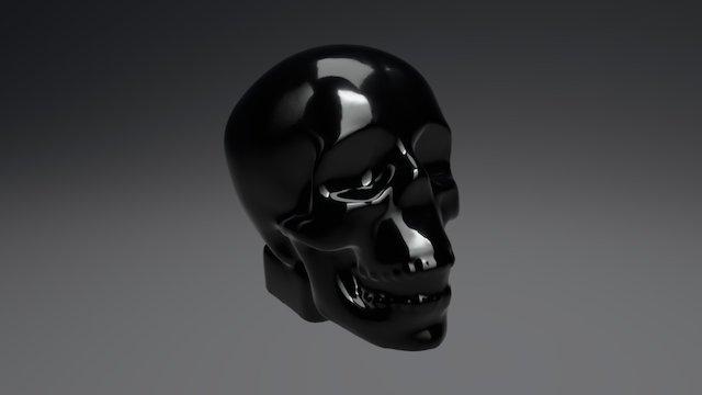 3D Scan - Glass Skull 3D Model