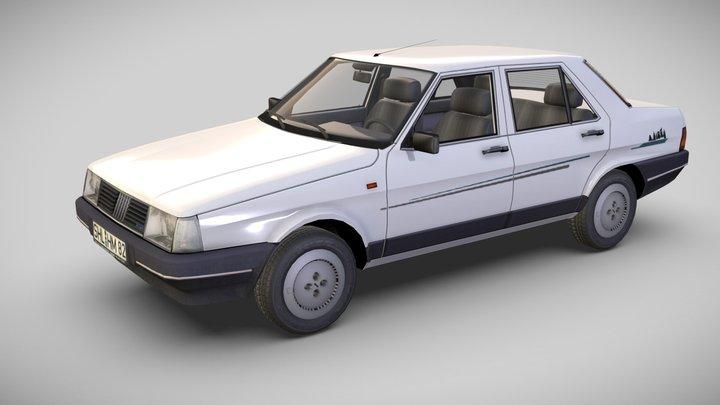 Fiat Regata 75 S i.e., 1986 3D Model