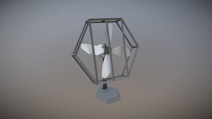 Fan - Household Props Challenge 3D Model