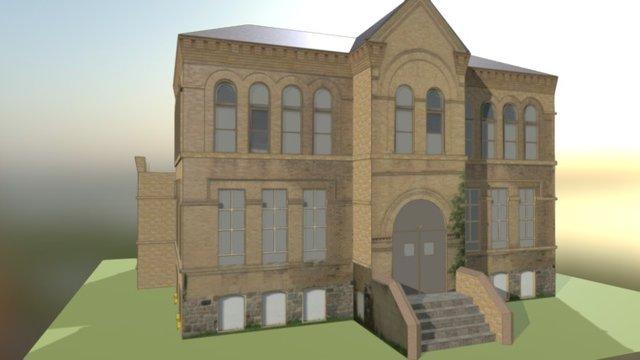 Oakwood School 3D Model