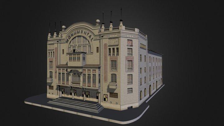 Cine Monumental 3D Model