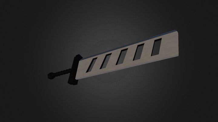 Bustersword 3D Model