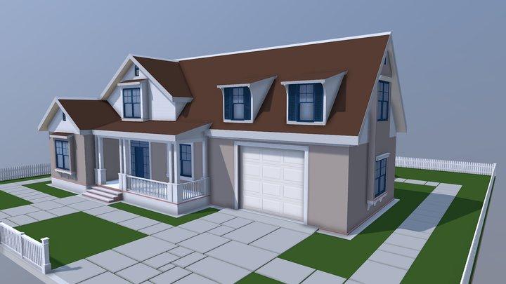 NEOarch Cottage SB 004 (autodesk FBX) 3D Model