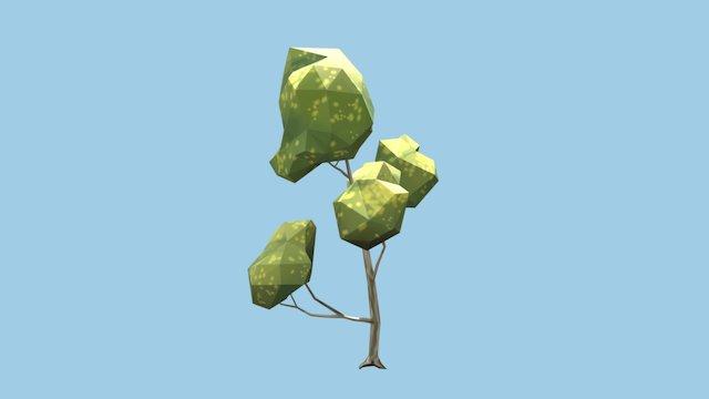 Elm Tree - Low Poly 3D Model