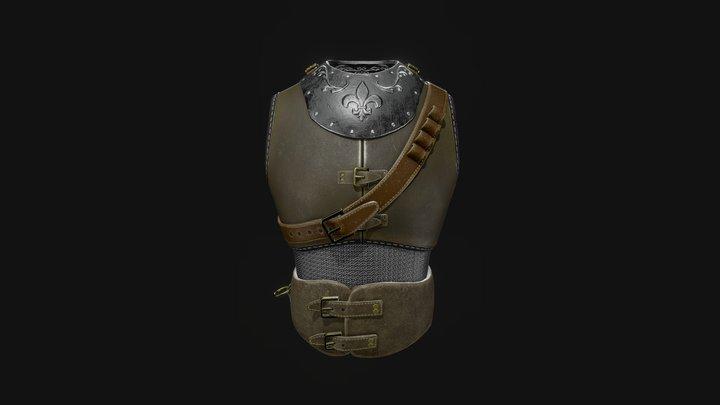 Leather Armor 3D Model