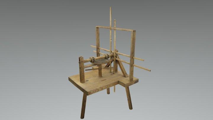 Mechanical alphabet, TM1997 3D Model