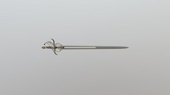 Cheydinhal Court Sword 3D Model