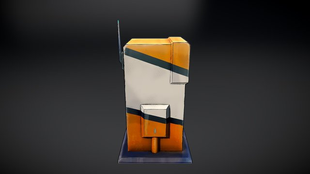 Borderlands Outhouse 3D Model