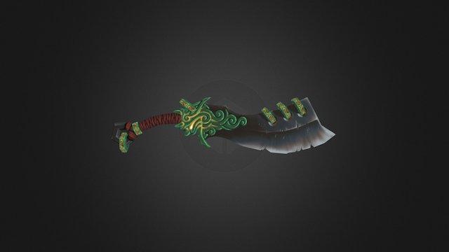 Zin's Demon Blade 3D Model