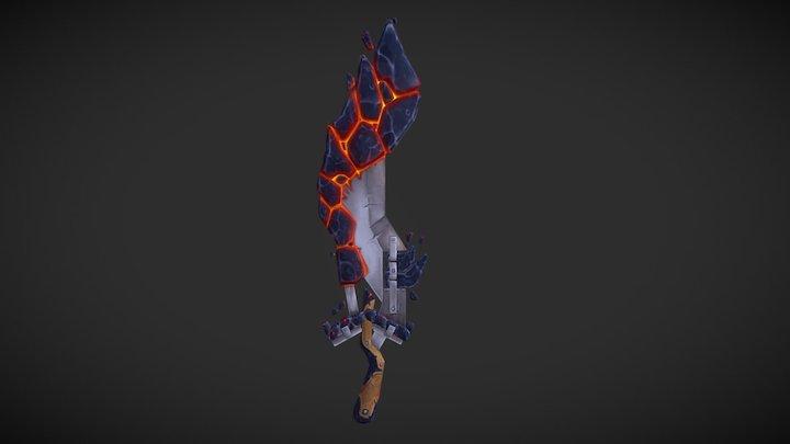 "Sword Model: ""Tyranny"" 3D Model"