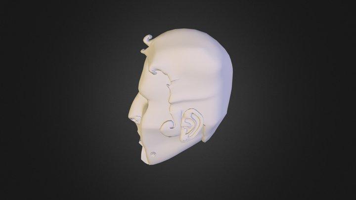 Marionette Head (Ben) 3D Model