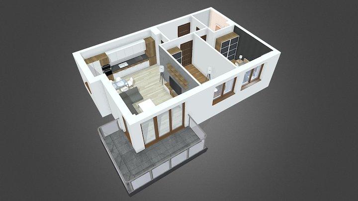 Andersena - mieszkanie 08 3D Model
