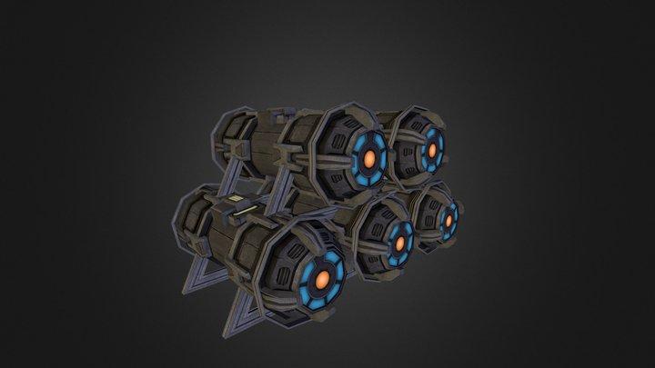 Cargo 03 3D Model