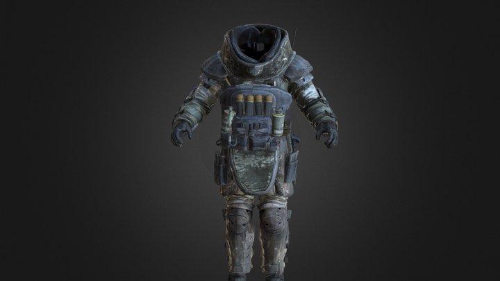Juggernaut Body No Helmet 3D Model
