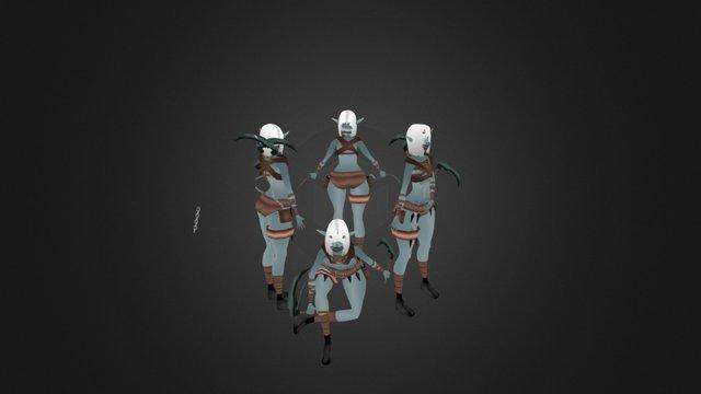 Kobold Assassin 3D Model