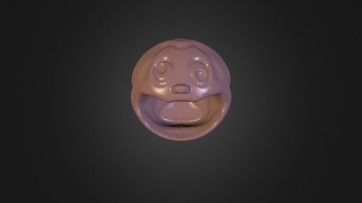 Laughing 3D Model