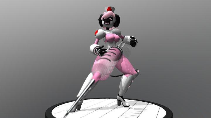 Nurse Sheepybot 3D Model