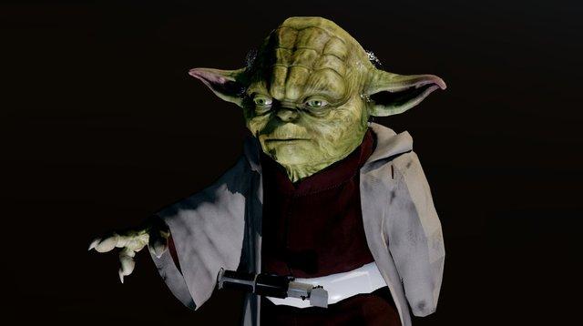 Yoda-test-05 3D Model