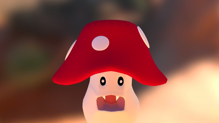mushroom0430 3D Model