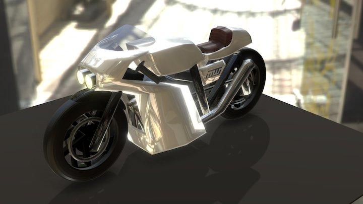Cafe Racer 3D Model