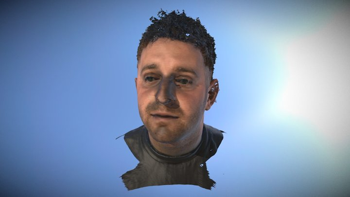 Dan 3D Head Scan 3D Model