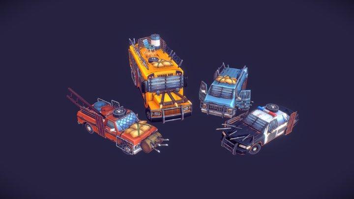 SurrounDead - Vehicles 3D Model