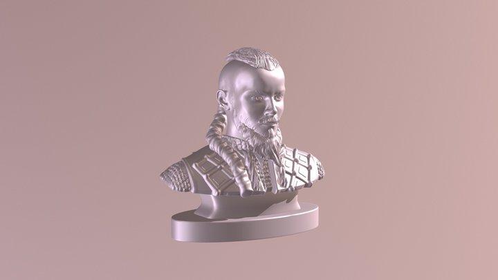 Viking Kosa 3D Model