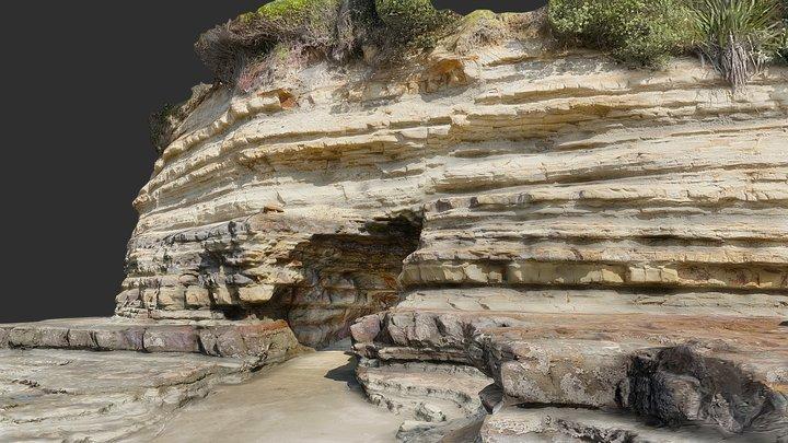 Sea Cave 3D Model