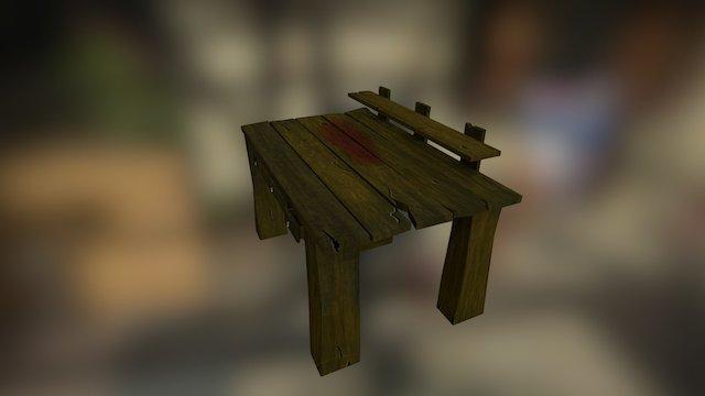 Desk_test 3D Model