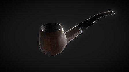Smoking Pipe 3D Model