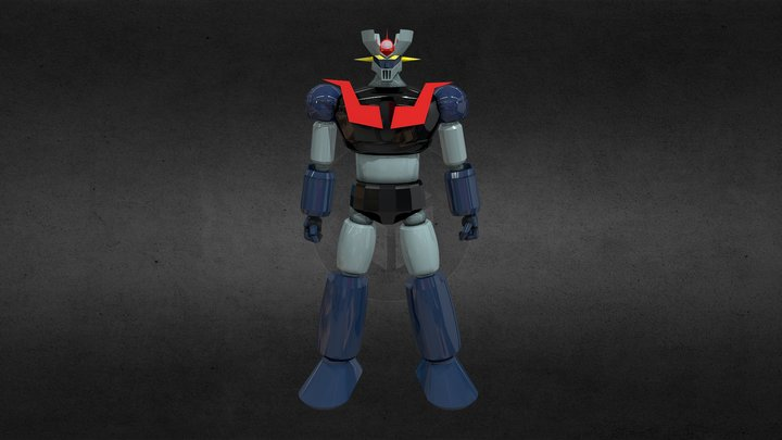 Mazinger Z 3D Model