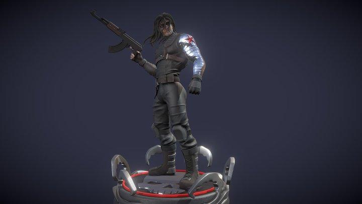 Winter Soldier 3D Model