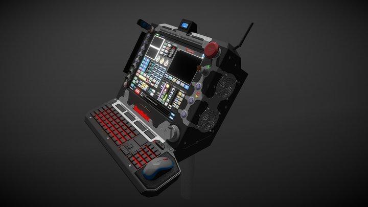 """Controller """"Hermes K1""""  V2.1 3D Model"""