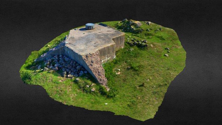 Bunker 1523 3D Model