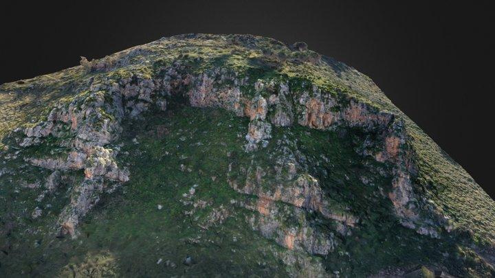 Castellamare del Golfo. Bocca della Carruba. 3D Model