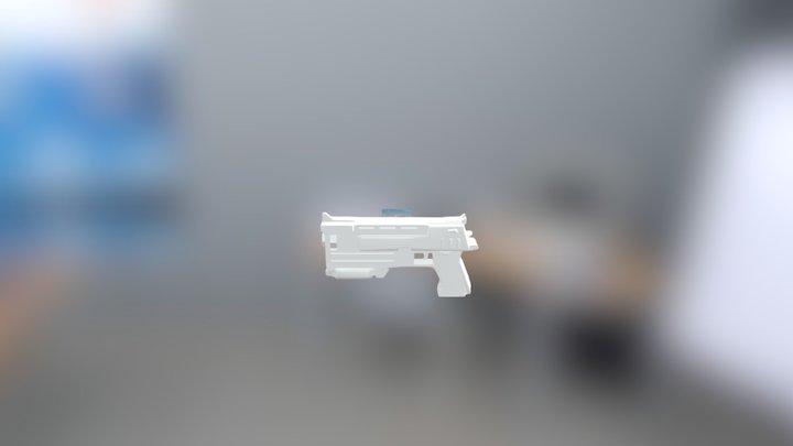 10mm Pistol 3D Model