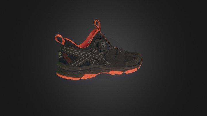 Asics Shoe v03 3D Model
