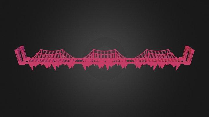 cầu quay 3D Model
