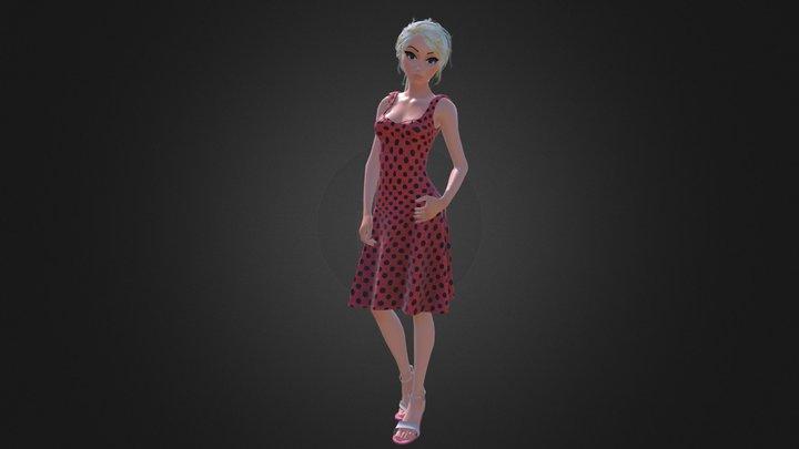 Antonella 3D Model