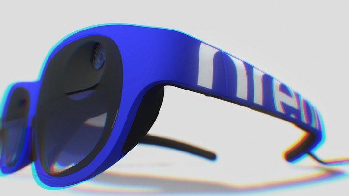 Nreal Light-Blue 3D Model