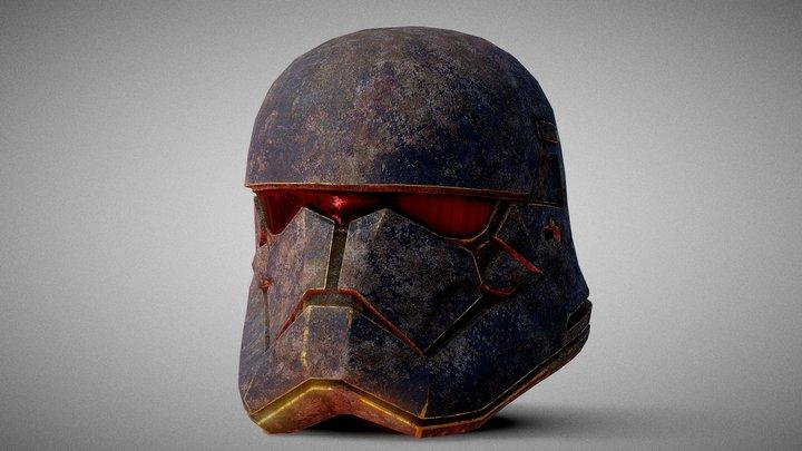 Storm-Trooper Helmet 3D Model