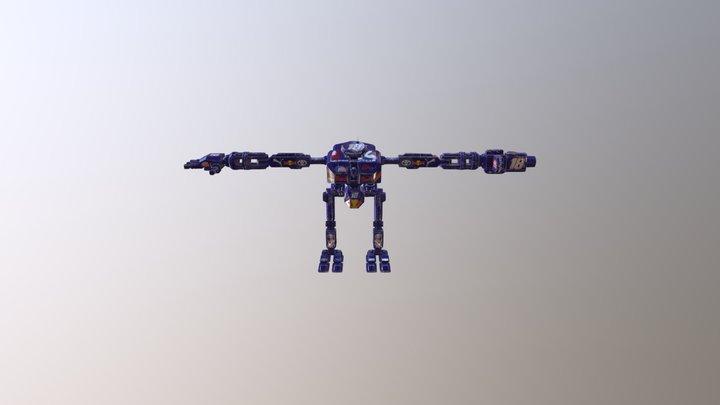 Nascar Bot 3D Model