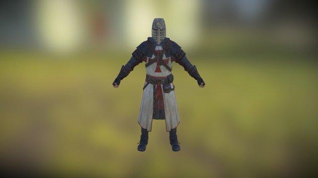 Templar 3D Model