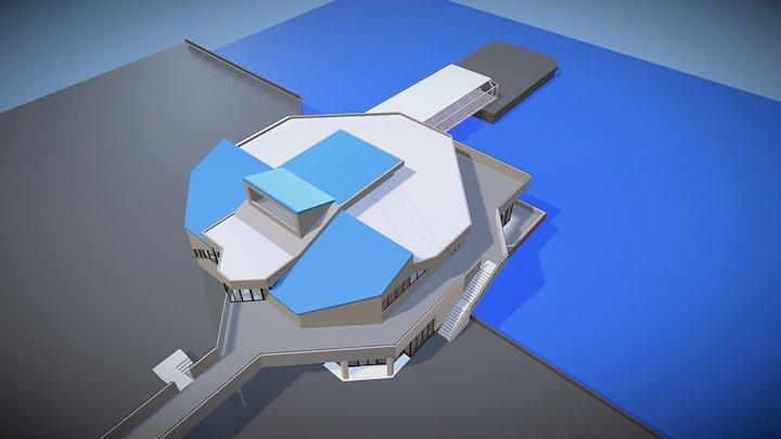 Halifax Ferry Terminal 3D Model